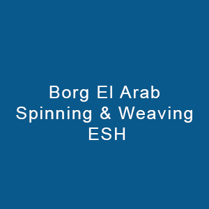 Borg El Arab Spinning & Weaving