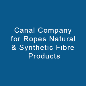 Canal Company For Ropes Natural & Synthetic Fibre Products-logo
