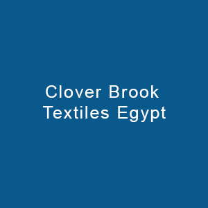 Clover Brook Textiles Egypt