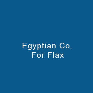 Egyptian Co. For Flax & It's Products