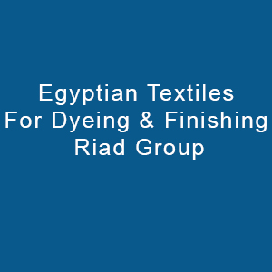 Egyptian Textiles For Dyeing & Finishing
