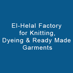 El Helal Factory For Knitting,dyeing & Ready Made Garments