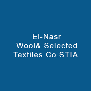 El Nasr Wool& Selected Textiles Co.
