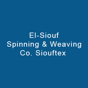 El Siouf Spinning & Weaving Co. (s.a.a)