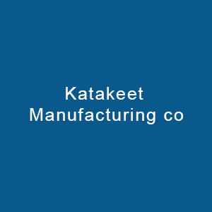 Katakeet Manufacturing Co. For Clothes, Textile & Blankets