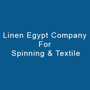 Linen Egypt Company For Spinning & Textile