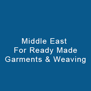 Middle East For Ready Made Garments & Weaving