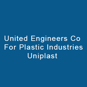 United Engineers Co. For Plastic Industries